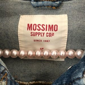 Mossimo Supply Co. Jackets & Coats - Mossimo Denim Blue Jean Jacket Distressed